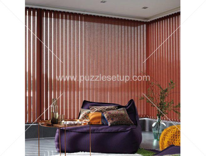 پرده کرکره عمودی  vertical blinds